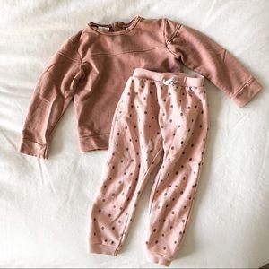 Zara Baby Cozy Sweat Set
